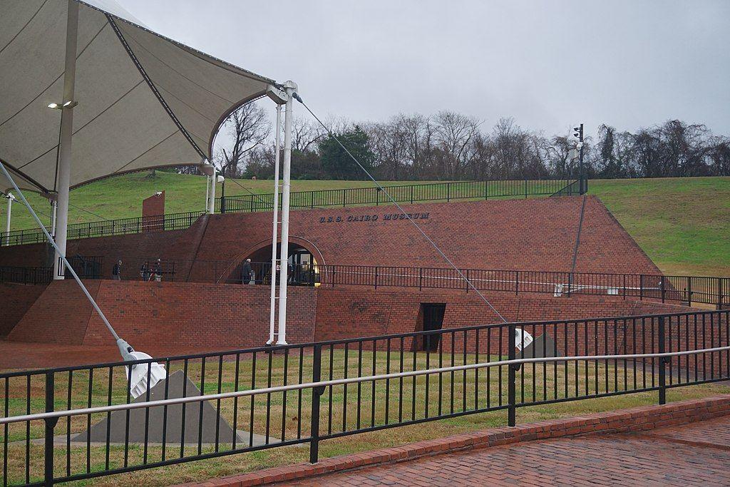 View of USS Cairo Museum