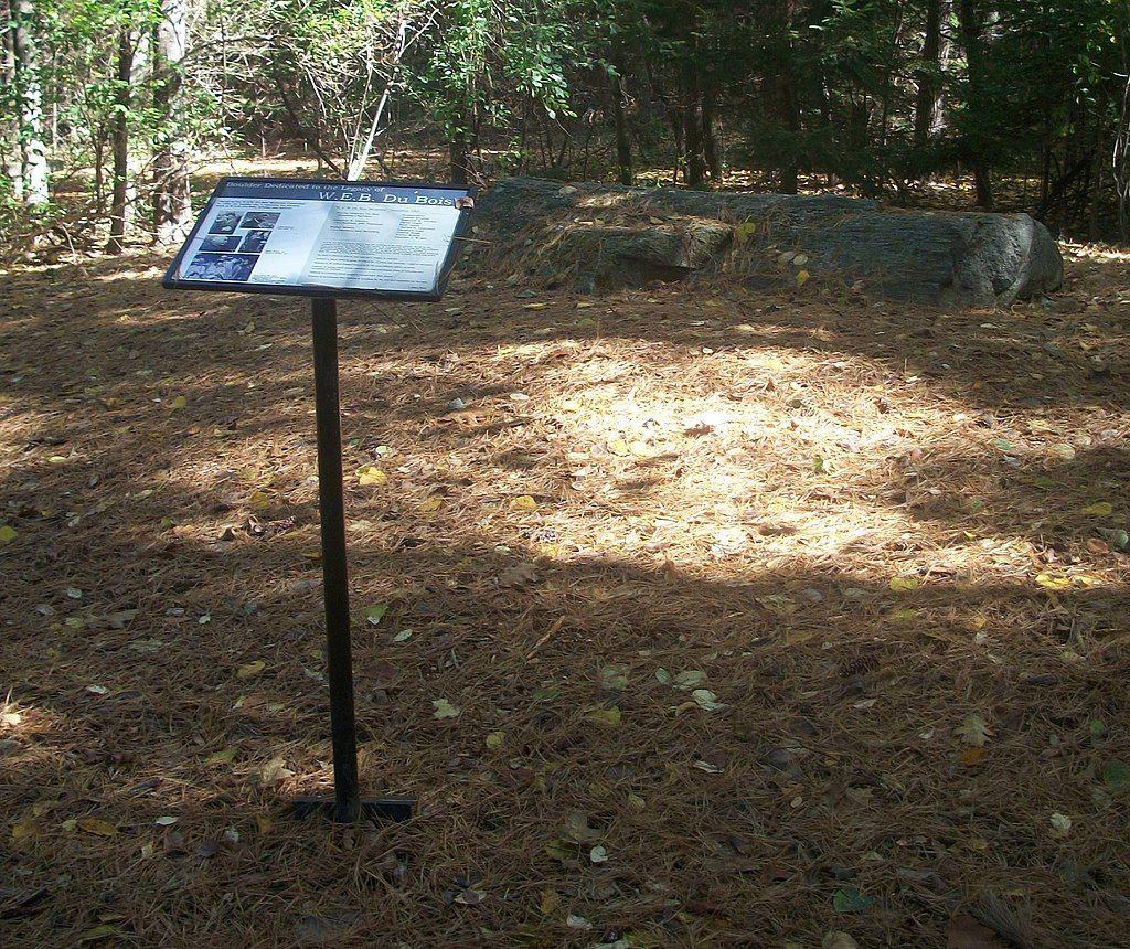 View of Du Bois National Historic Site