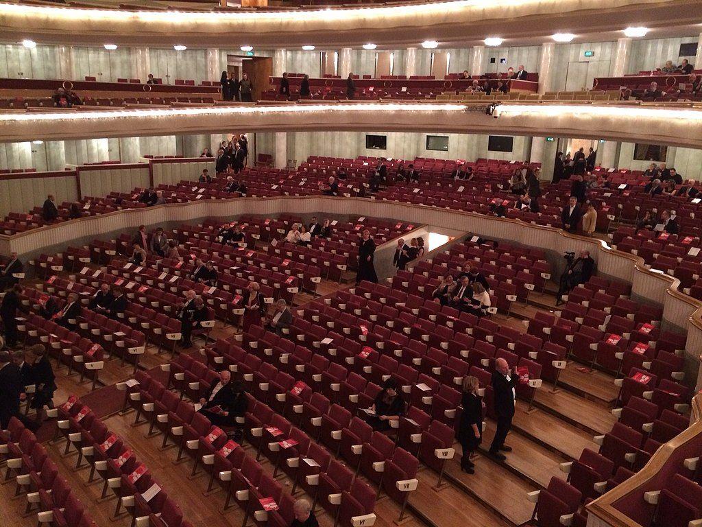Interior of Warsaw Grand Theatre