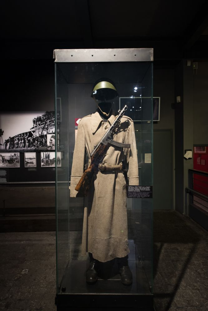 Exhibition at Warsaw Uprising Museum