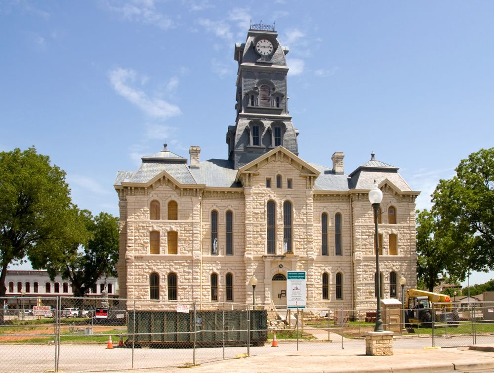 Courthouse squares in Granbury