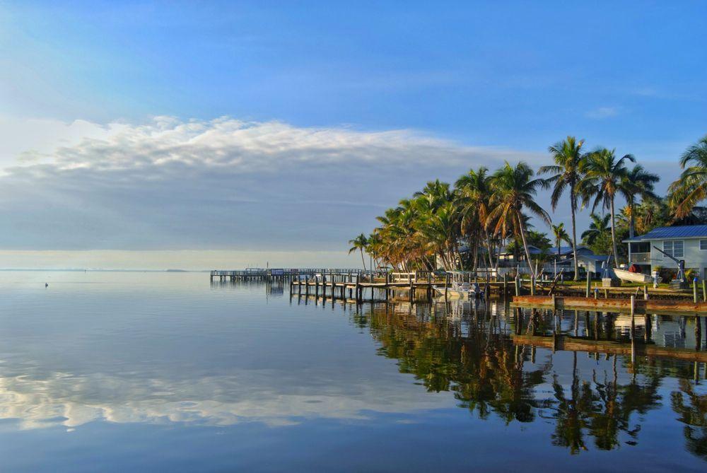 View of Matlacha, Florida