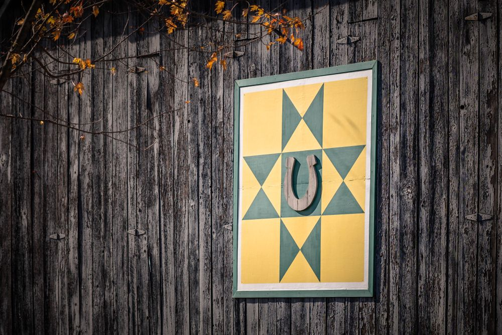 Barn Quilt at Old Friends Farm