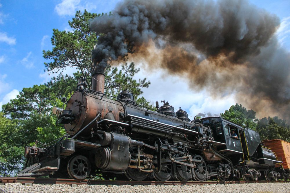 View of Texas State Railroad
