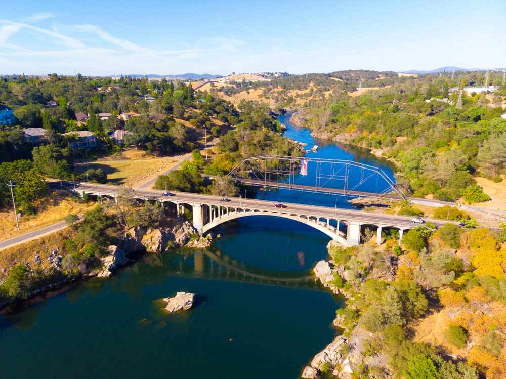 Aerial View of Folsom Powerhouse | State Historic Park