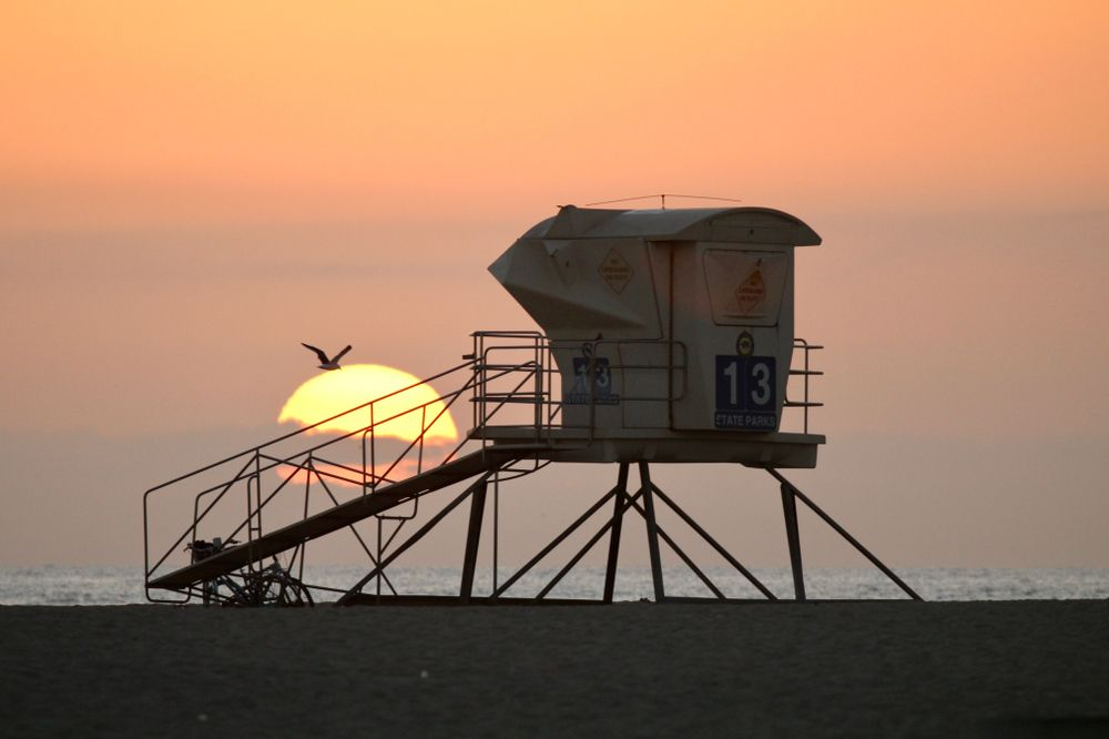 View of Huntington State Beach