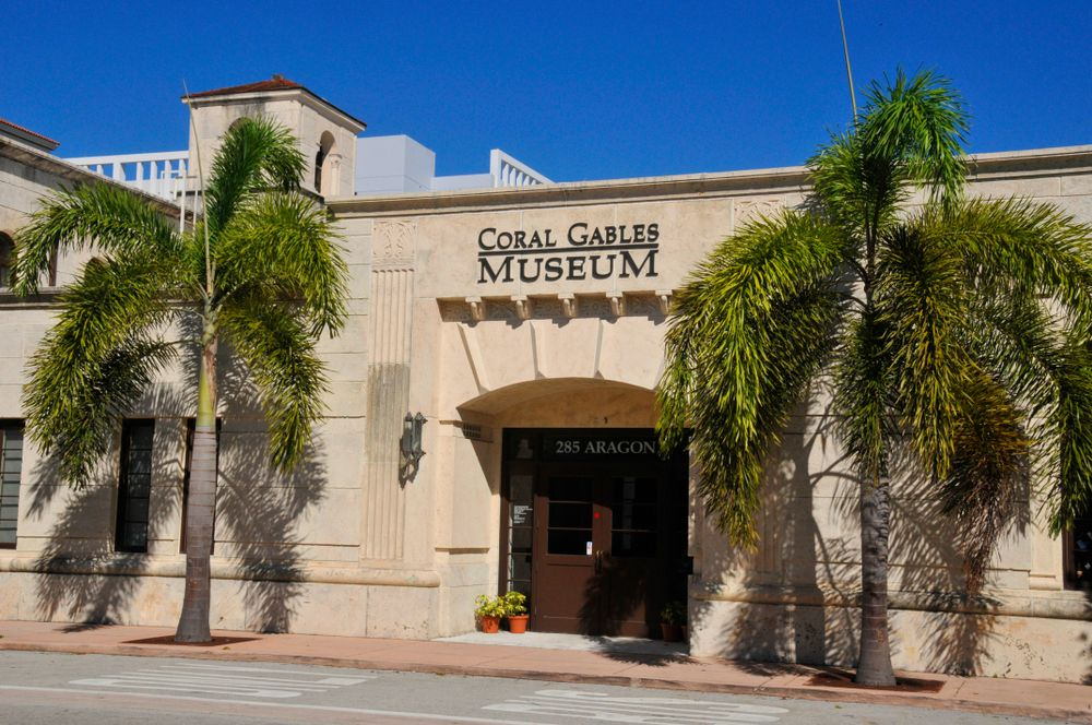 Outside View of Coral Gables Museum