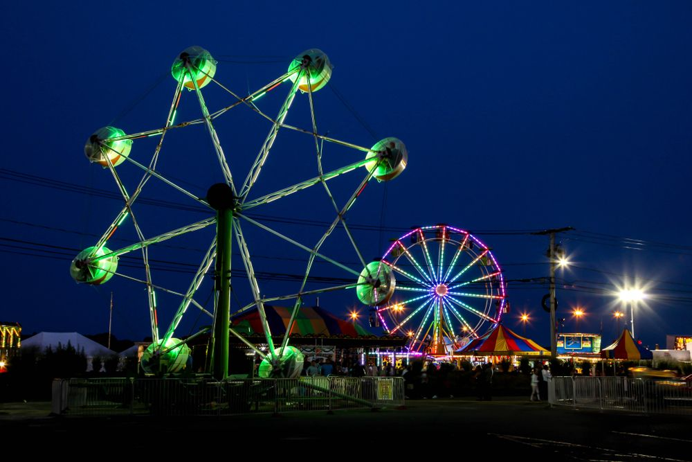 View of Norwalk Oyster Festival