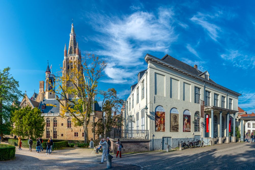 View of Groeningemuseum