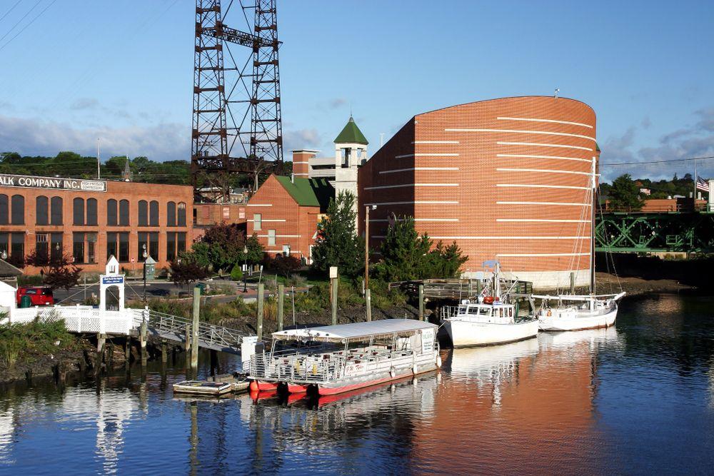 View of Maritime Aquarium