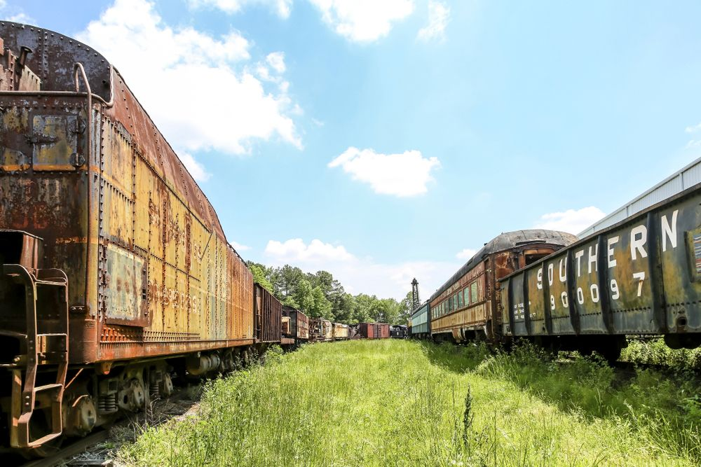 View of Southeastern Railway Museum