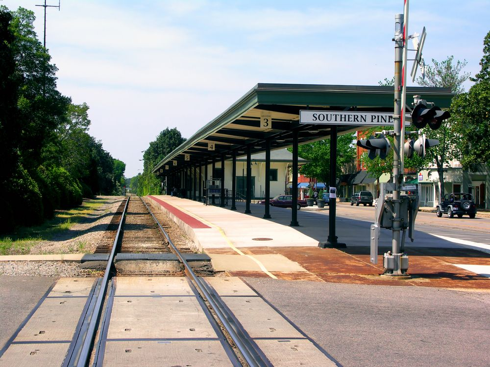 Train Station in Southern Pines
