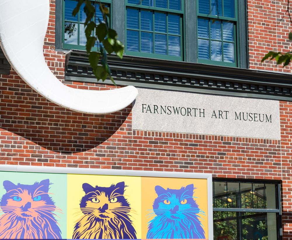 Outside View of Farnsworth Art Museum