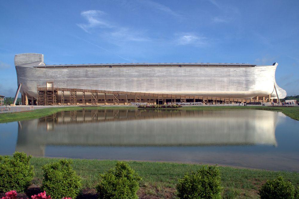 View of Ark Encounter: Life-size Noah's Ark