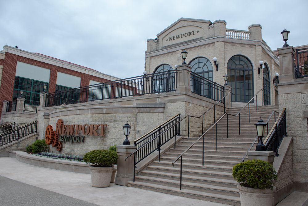 View of Newport Aquarium