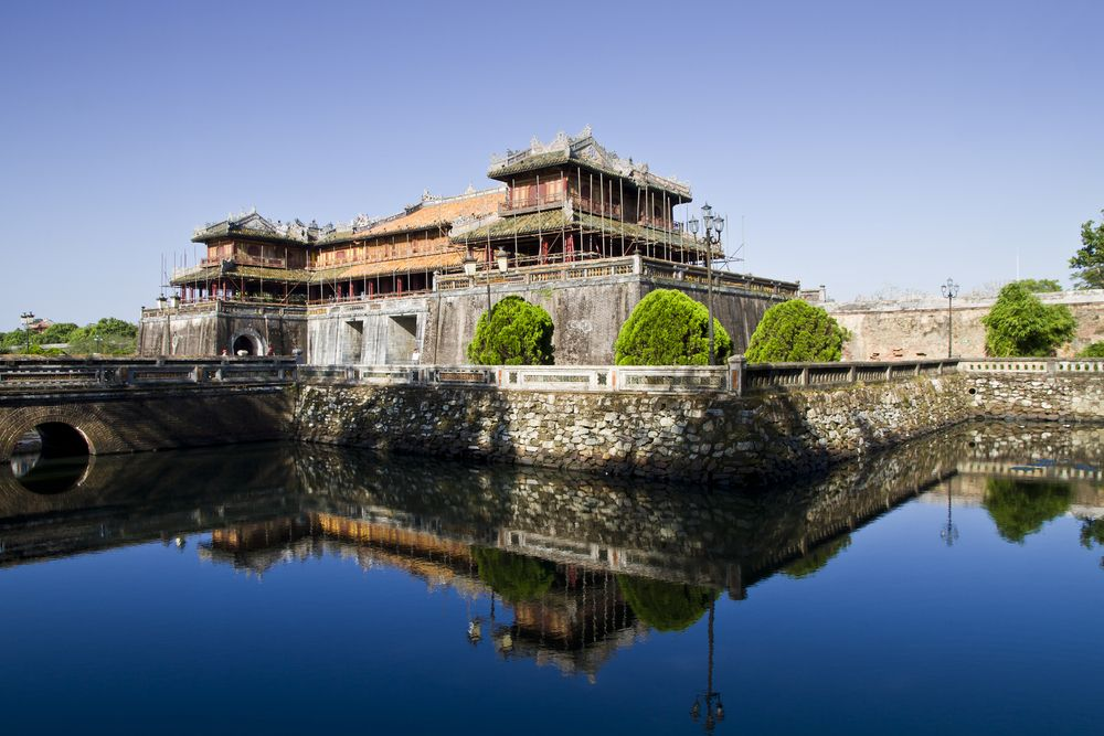 View of Imperial Royal Palace