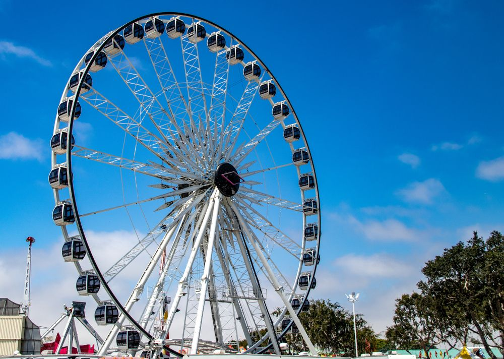 View of Orange County Fair