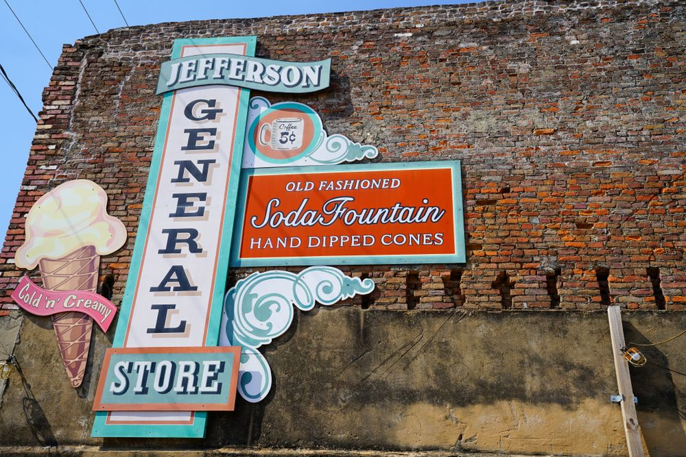 View of Jefferson General Store