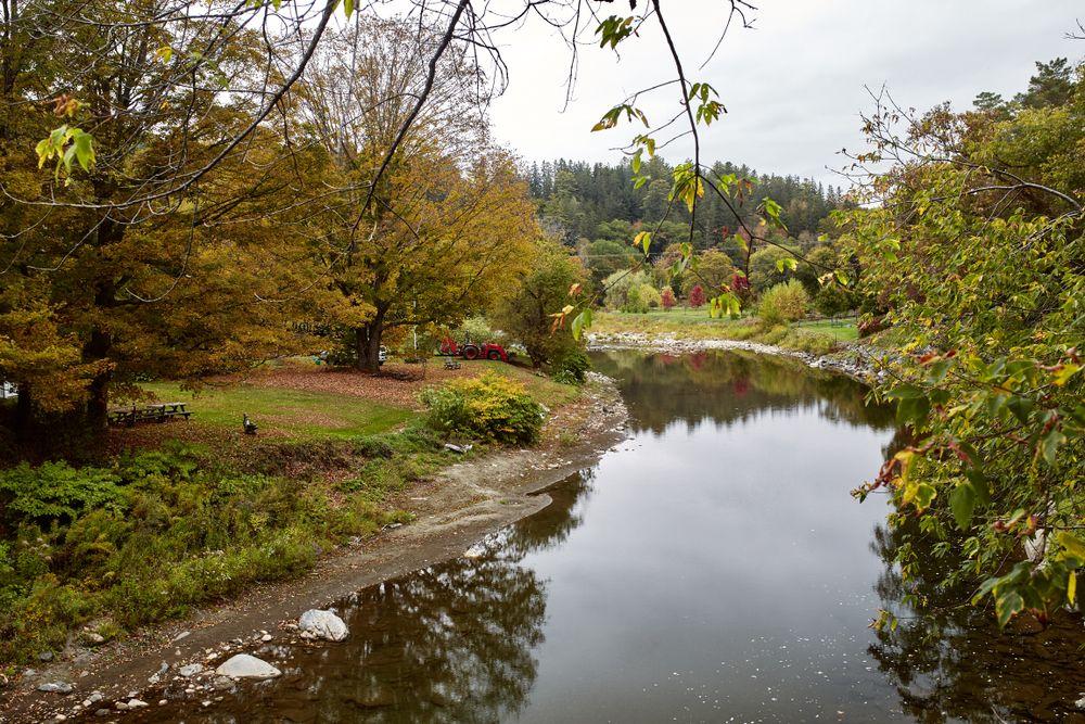 View of Ottauquechee River