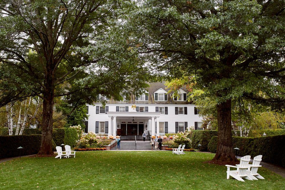 Outside View of Woodstock Inn and Resort