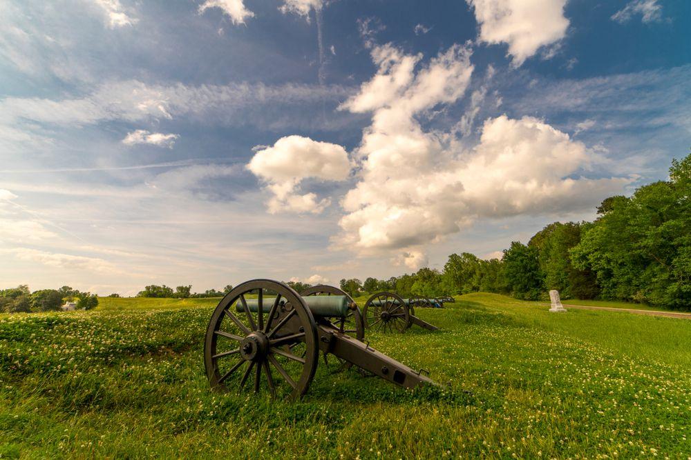 View of Vicksburg National Military Park