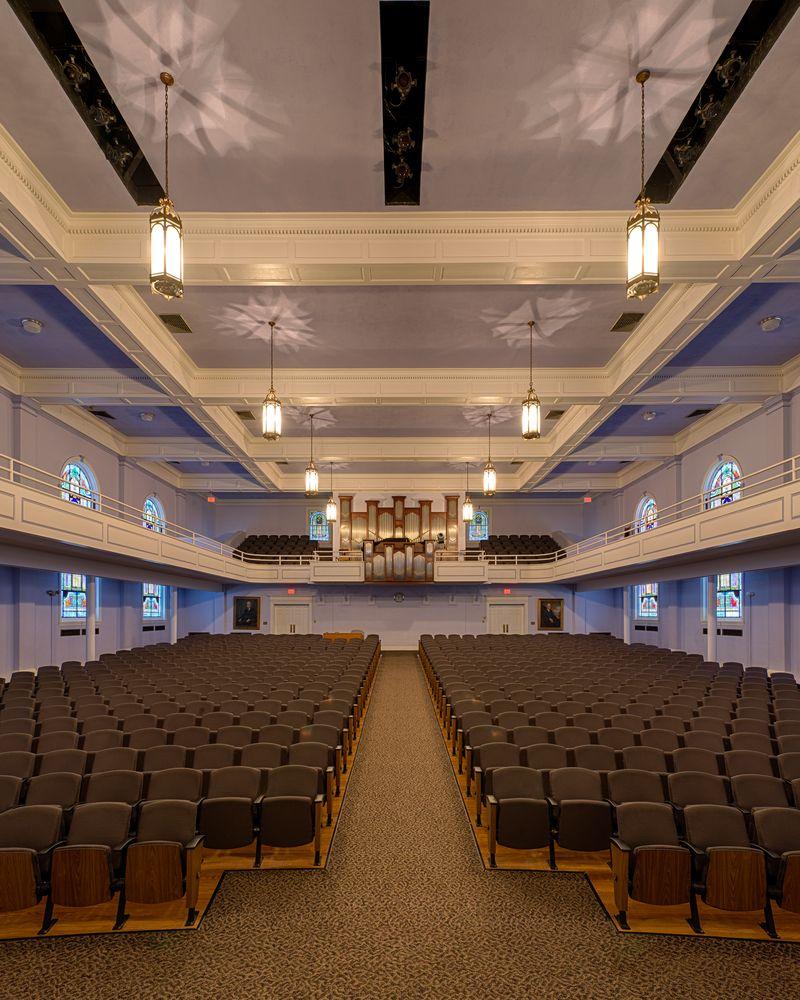 John L. Hill Chapel in Georgetown College