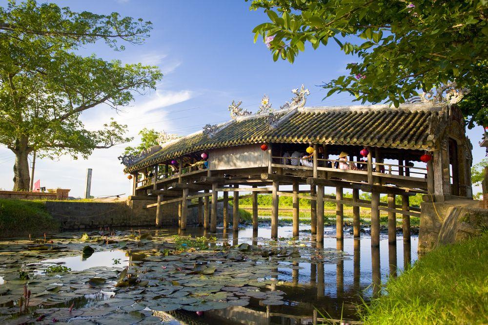 Scenic View of Thanh Toan Bridge