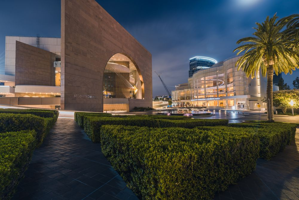 View of Segerstrom Center for the Arts