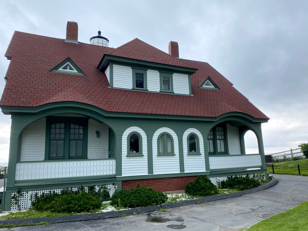 Wide View of Maine Lighthouse Museum