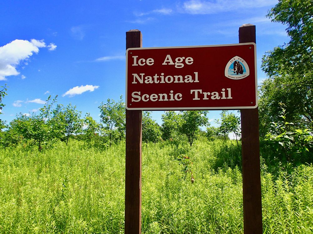 A Sign in Ice Age Trail