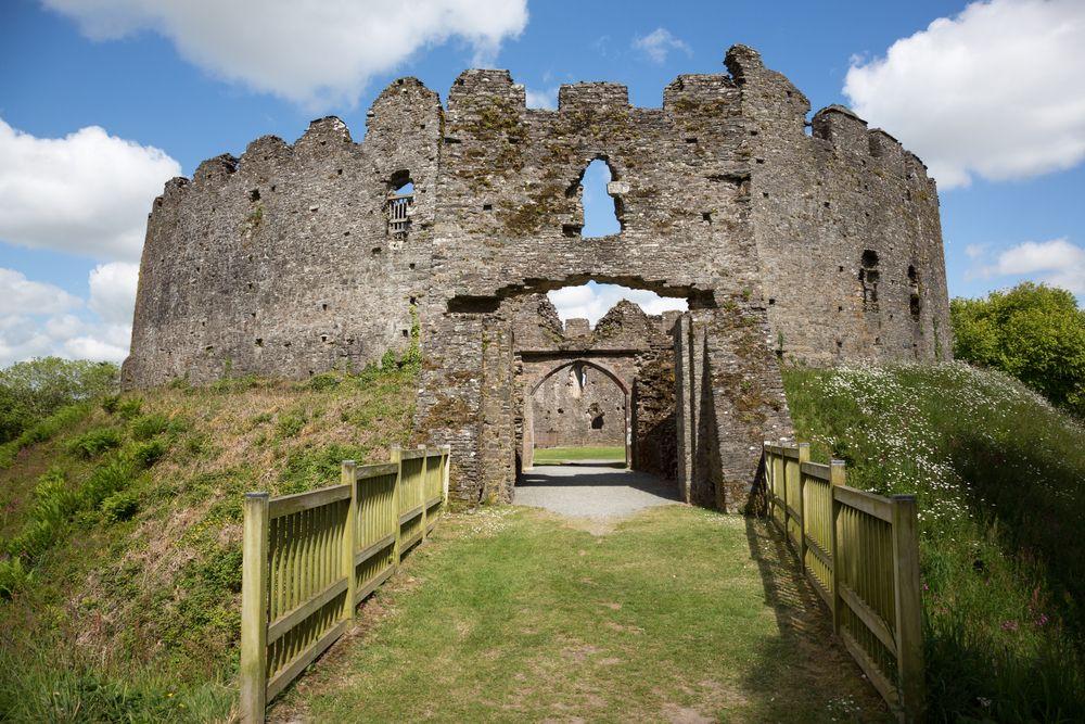Stunning View of  Restormel Castle