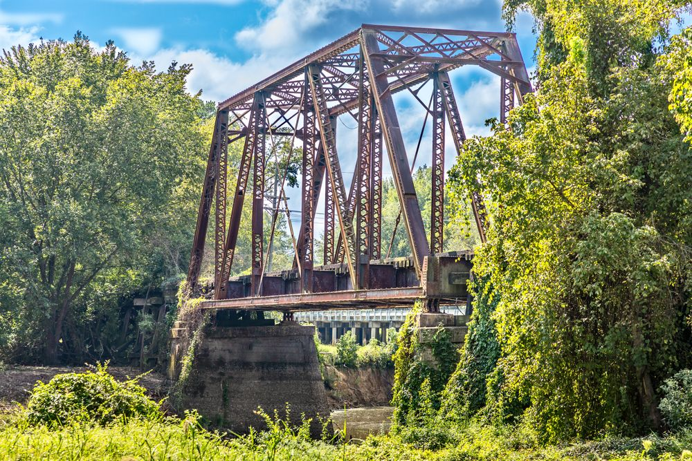 View of Historic Jefferson Railway