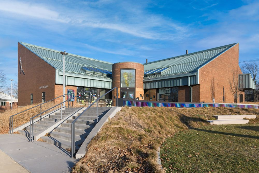 View of Krasl Art Center