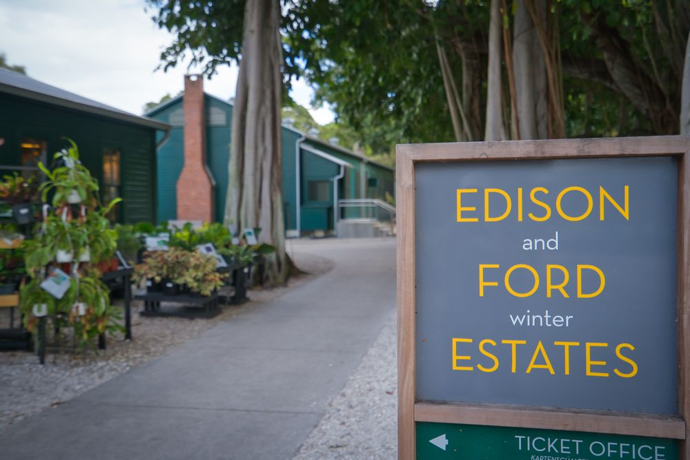 View of Edison and Ford Winter Estates