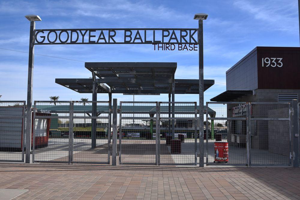 Entrance of Goodyear Ballpark