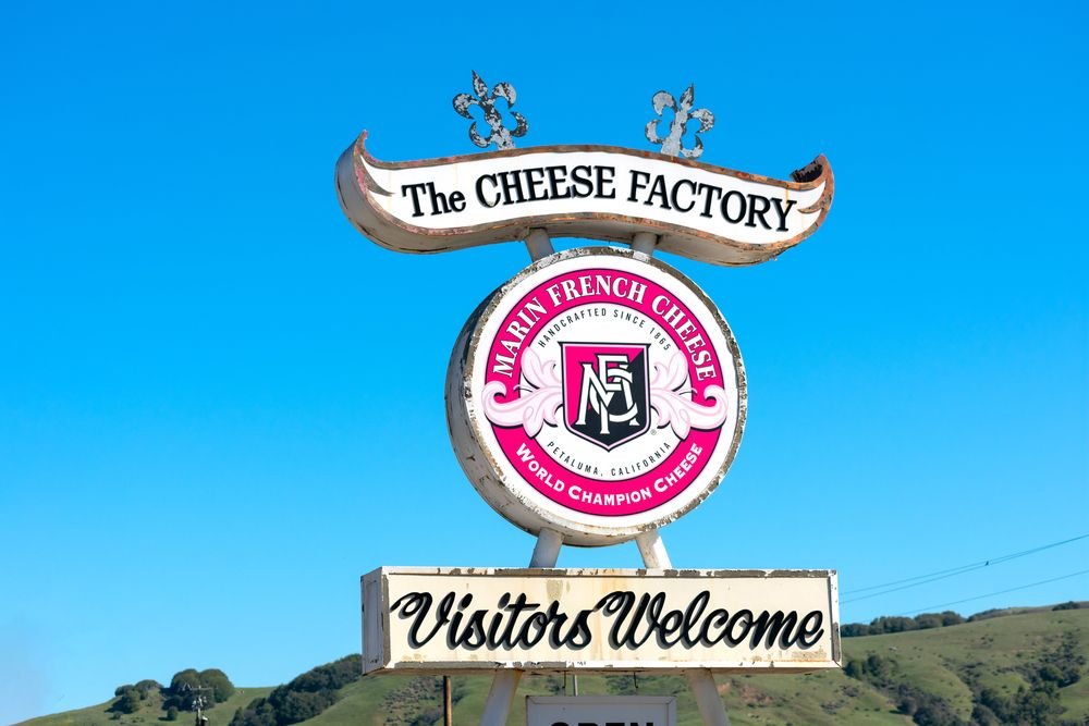 View of  Marin French Cheese Company