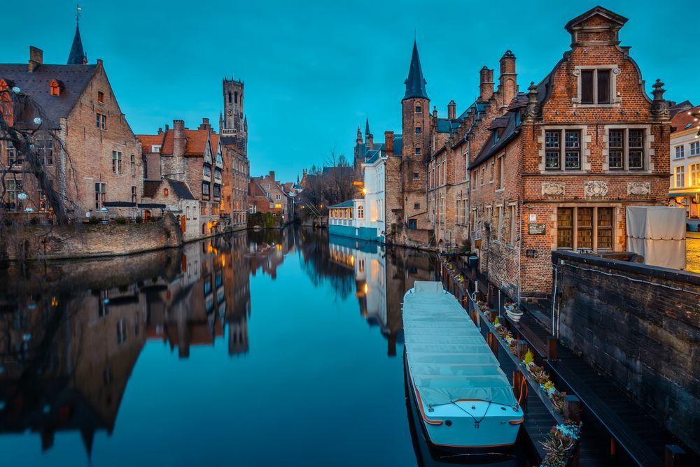 View of Belfry of Bruges