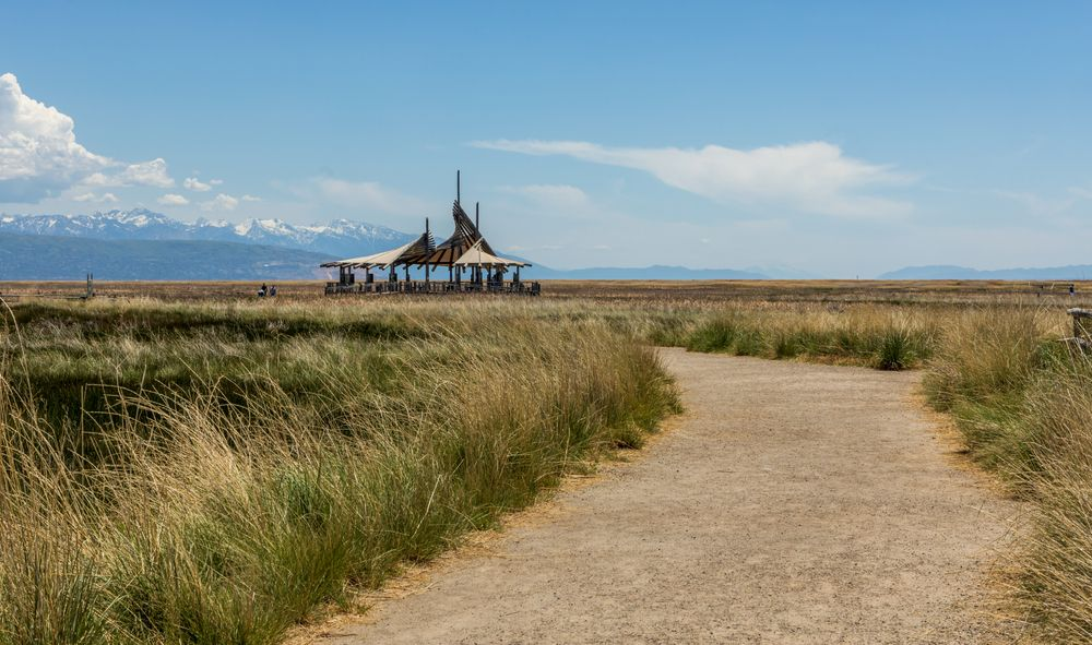 View at Great Salt Lake Shorelands Preserve