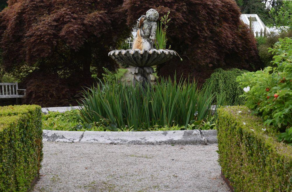 Magnificent View of Tregrehan Garden
