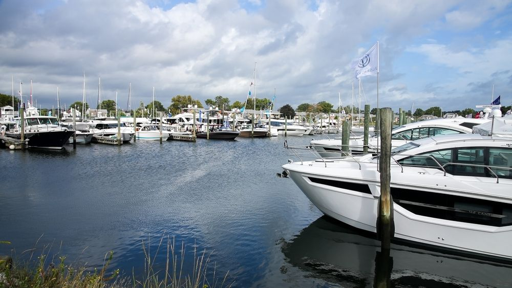 View of Norwalk Boat Show
