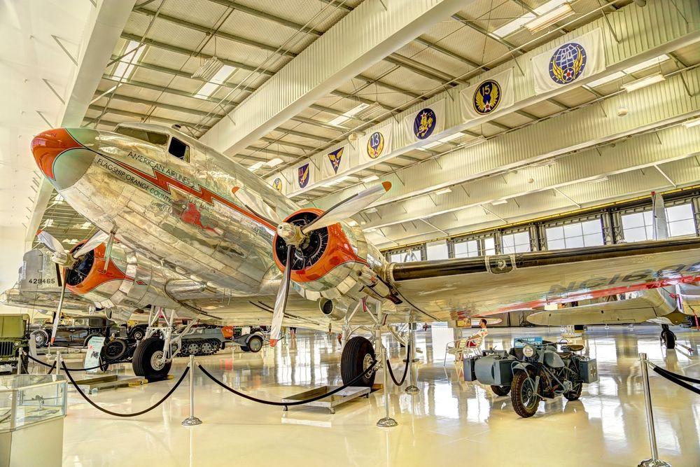 View of Lyon Air Museum