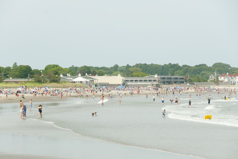 View of Scarborough State Beach