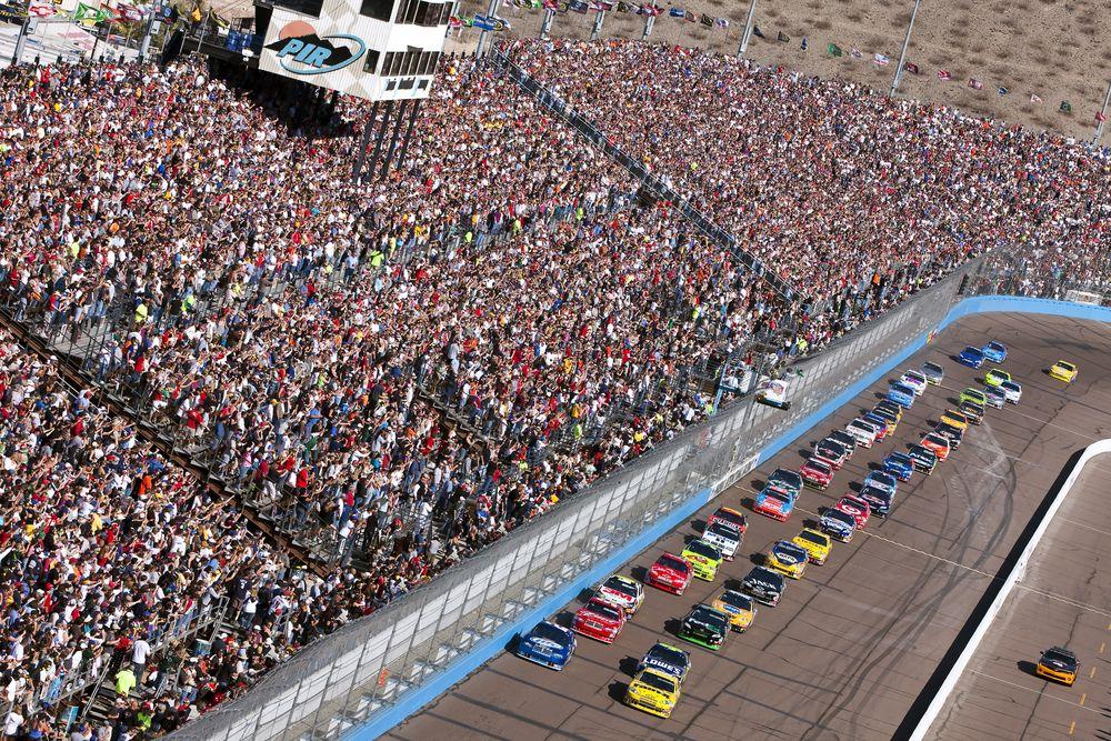 Aerial View of Phoenix Raceway