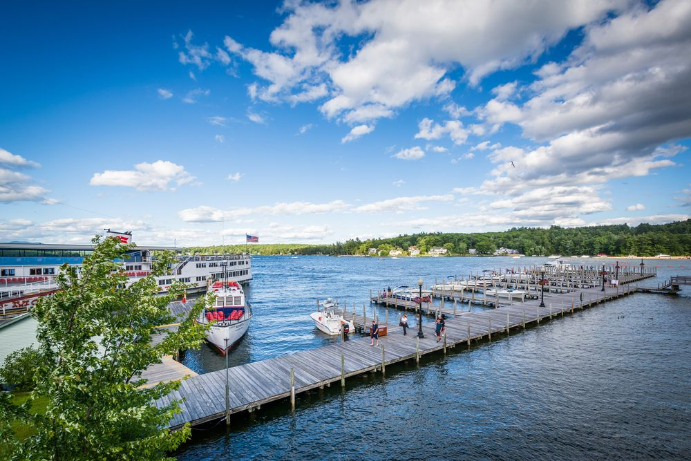 Beautiful View of Weirs Beach