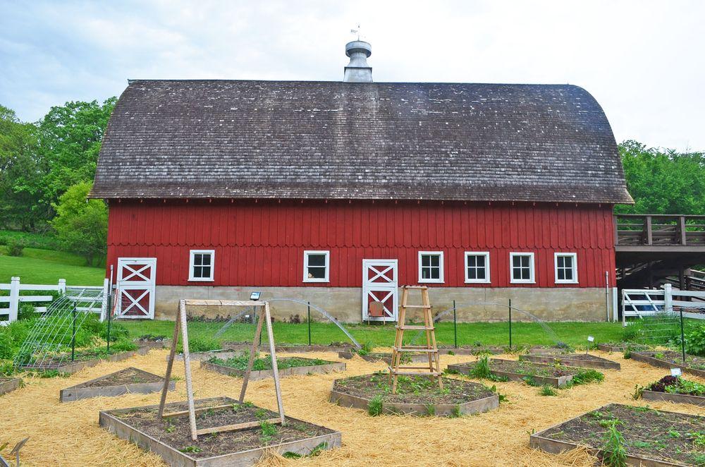 View of Seed Savers Exchange Heritage Farm