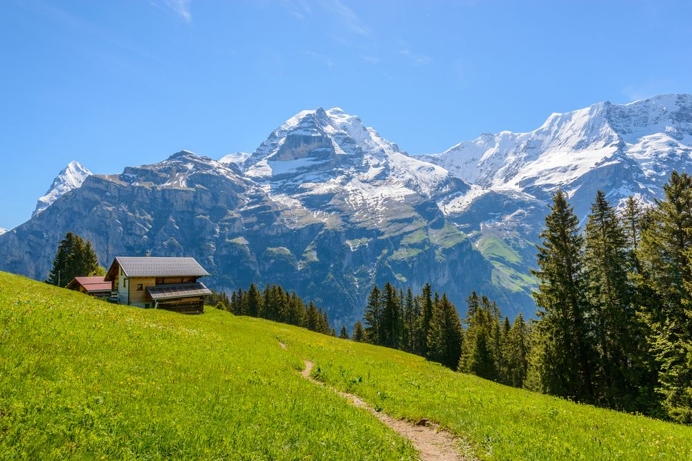 View of Jungfrau Region