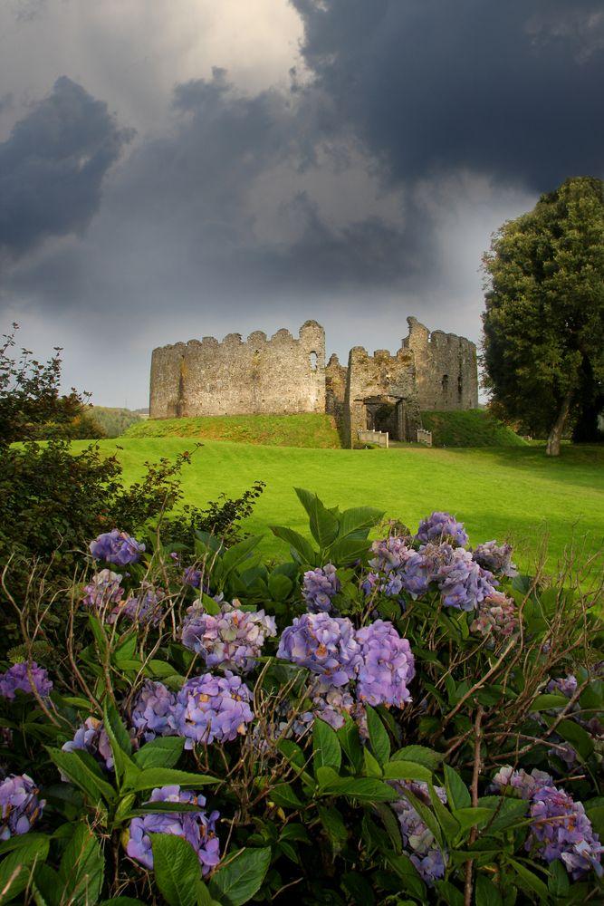 Beautiful View of  Restormel Castle