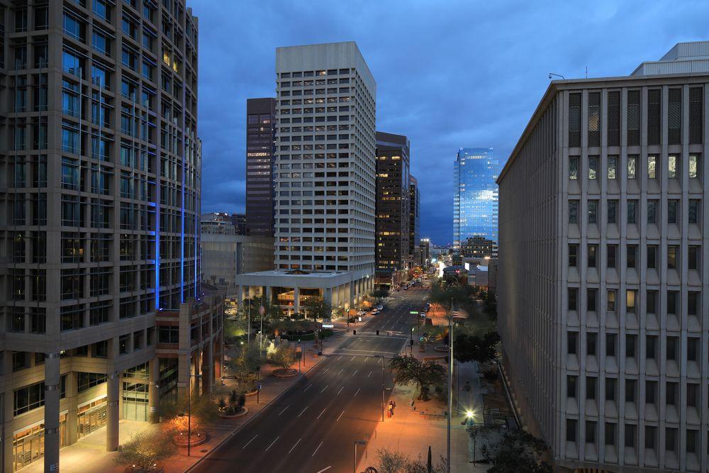Beautiful View at Phoenix City Center