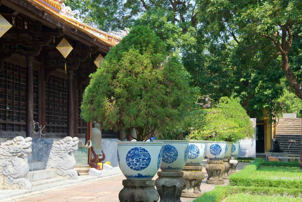 View of the Hue Museum of Royal Antiquities