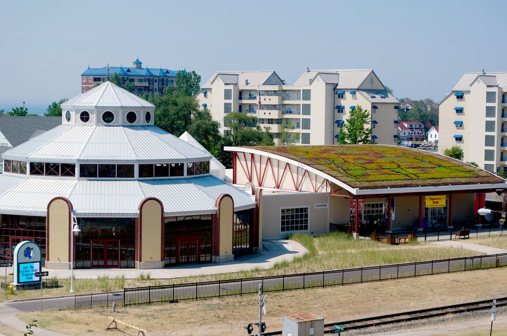View of Curious Kids' Museum and Discovery Zone